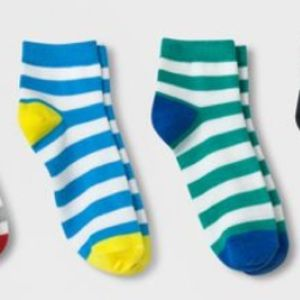 Boys' Ankle Socks (5 pairs) Size L 3-10
